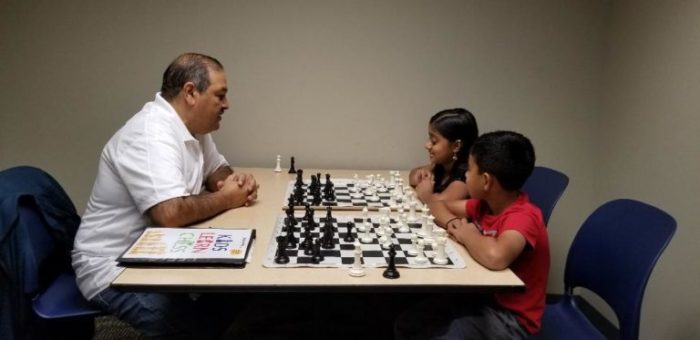 Kids Learn Chess Online Students